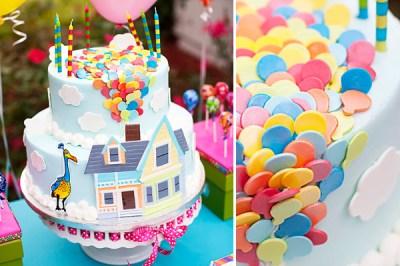 UP birthday cake