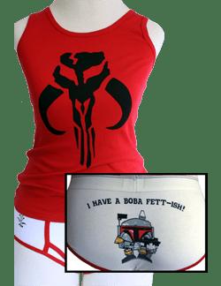 Ashley Eckstein Her Universe Boba Fett Underwear