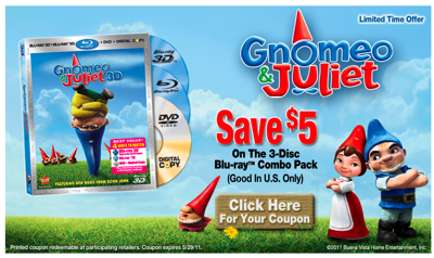 gnomeo coupon