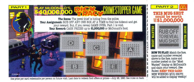 Step Into the Studios Past With McDonald's Dick Tracy