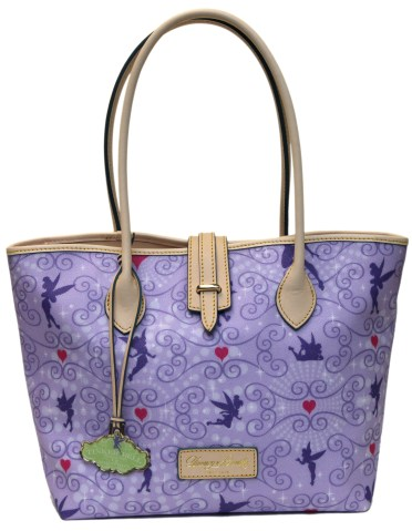 Dooney & Bourke Tinker Bell Half Marathon medium tote