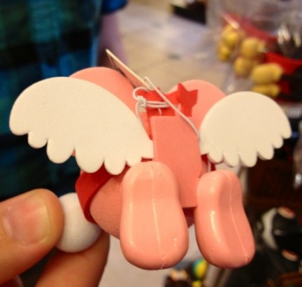 Cupid Mickey antenna topper