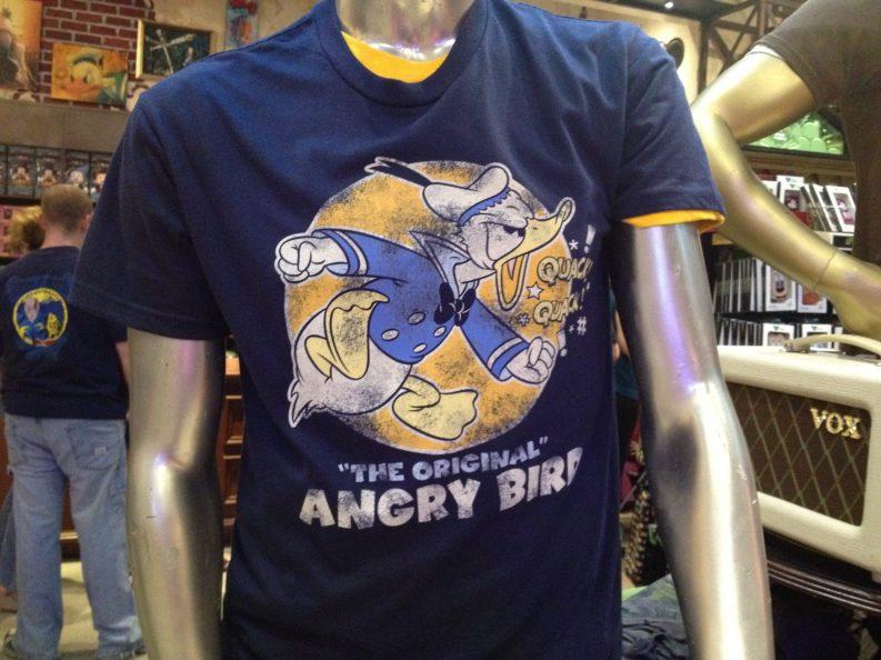 Donald Angry Bird t-shirt