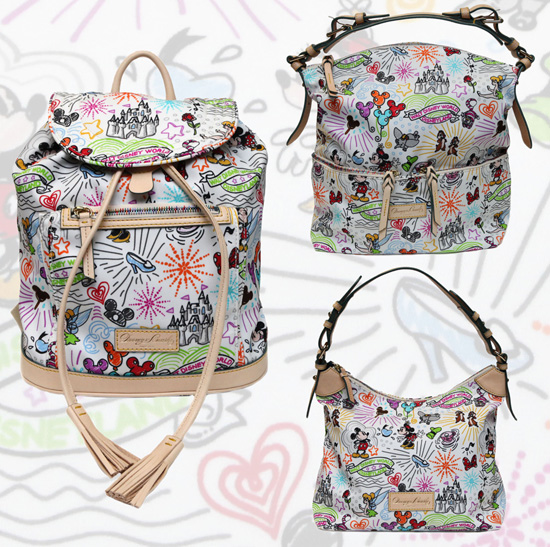 Disney Dooney & Bourke Cindy Sketch
