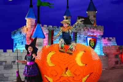 Legoland Jack-o-lantern