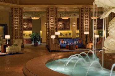 Walt Disney World Dolphin Hotel lobby