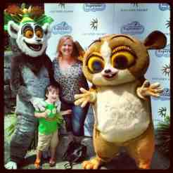 Madagascar characters at Gaylord Palms