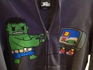 Marvel Tokidoki Hulk hoodie