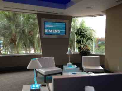 Siemens VIP Lounge Spaceship Earth Epcot