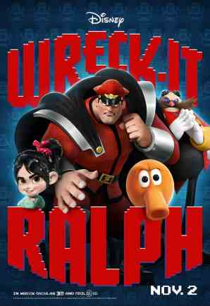 Wreck-It Ralph Q*bert movie poster