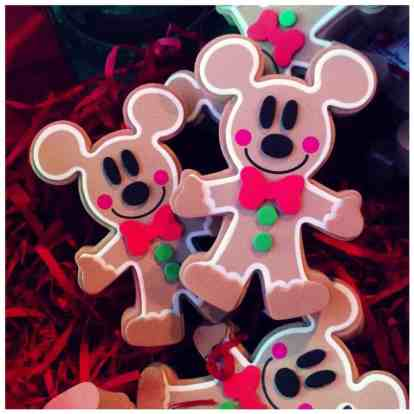 Gingerbread Mickey Disney antenna toppers