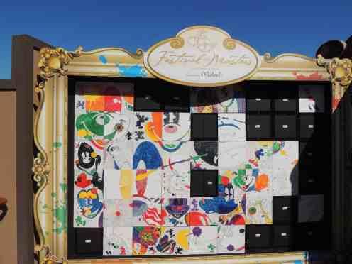 Michaels mosaic Mickey