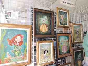 John Coulter's artwork for Festival of the Masters