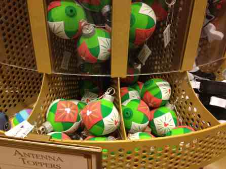 Christmas ornament Disney antenna toppers