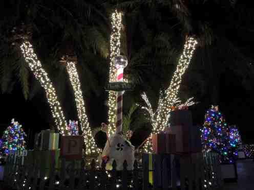 Busch Gardens Tampa Christmas Town