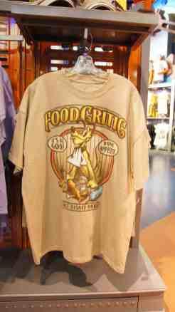 "Pluto ""Food Critic"" T-shirt"