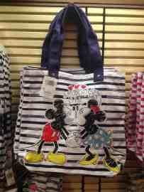 Mickey & Minnie Kissing Tote Bag