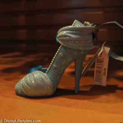Disney Cinderella character-inspired shoe ornament