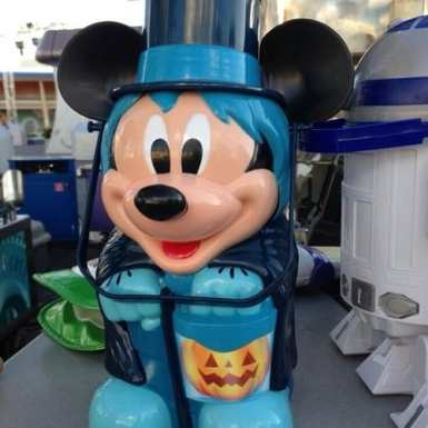 Hatbox Ghost Mickey popcorn bucket