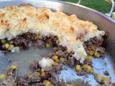 Beef and Craisins Sheppard's Pie
