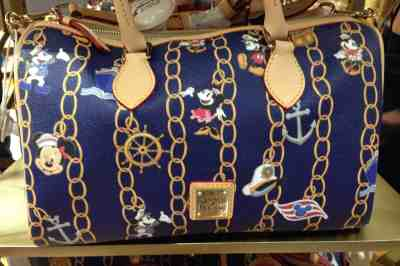 Disney Cruise Line Dooney Charms Bag