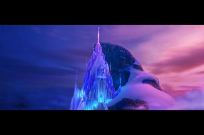 Frozen ice palace