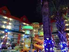 Oasis Pool slides