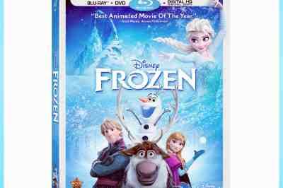 Frozen DVD release