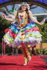 Disney Festival of Fantasy Parade Costumes Hit the Runway at Magic Kingdom: Bubble Girl
