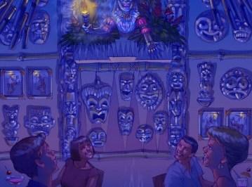 Trader Sams Grog Grotto concept art