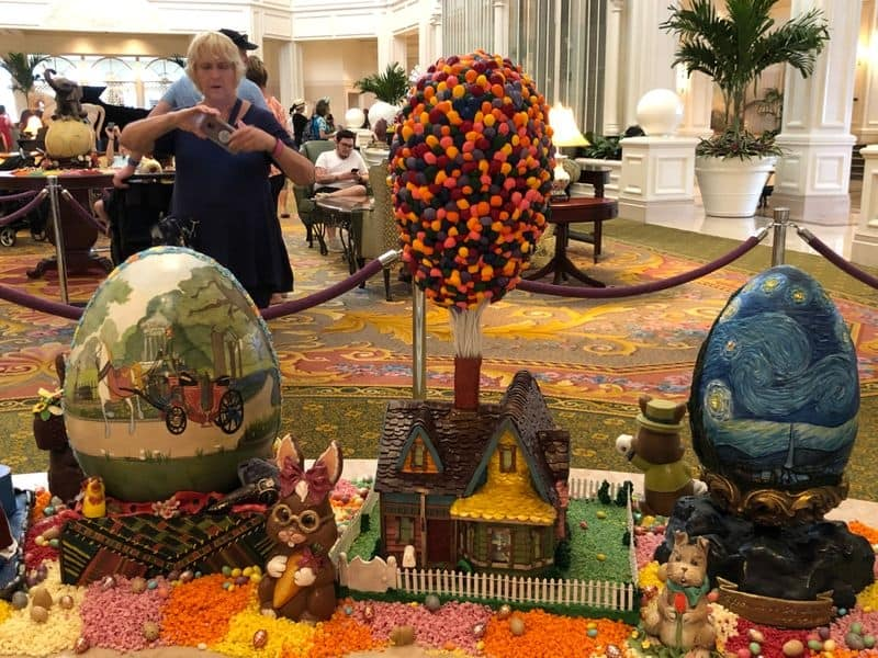 Grand Floridian Easter Eggs