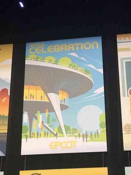 World Celebration poster EPCOT