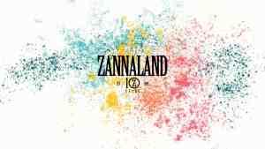 Zannaland 10 years logo color
