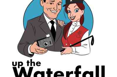 Up the Waterfall logo