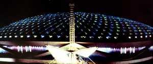 Progressland at night 1964 World's Fair