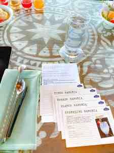 Sangria University recipes