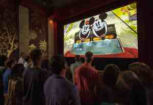 Mickey & Minnie's Runaway Railway preshow