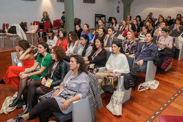 Plateia do Encontro Europeu de Blogueiros Brasileiros