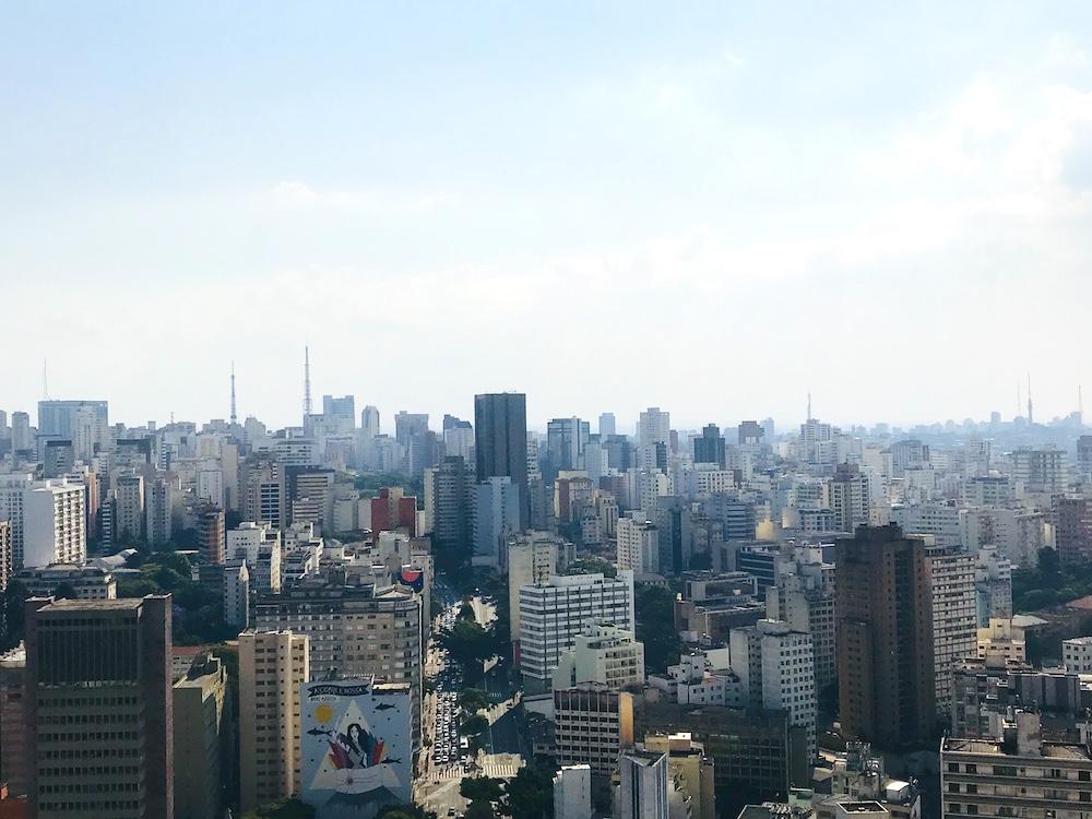 Vista em 360 graus do edifício Copan