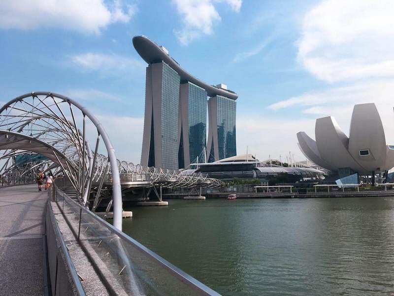 Pontos mais visitados de Singapura