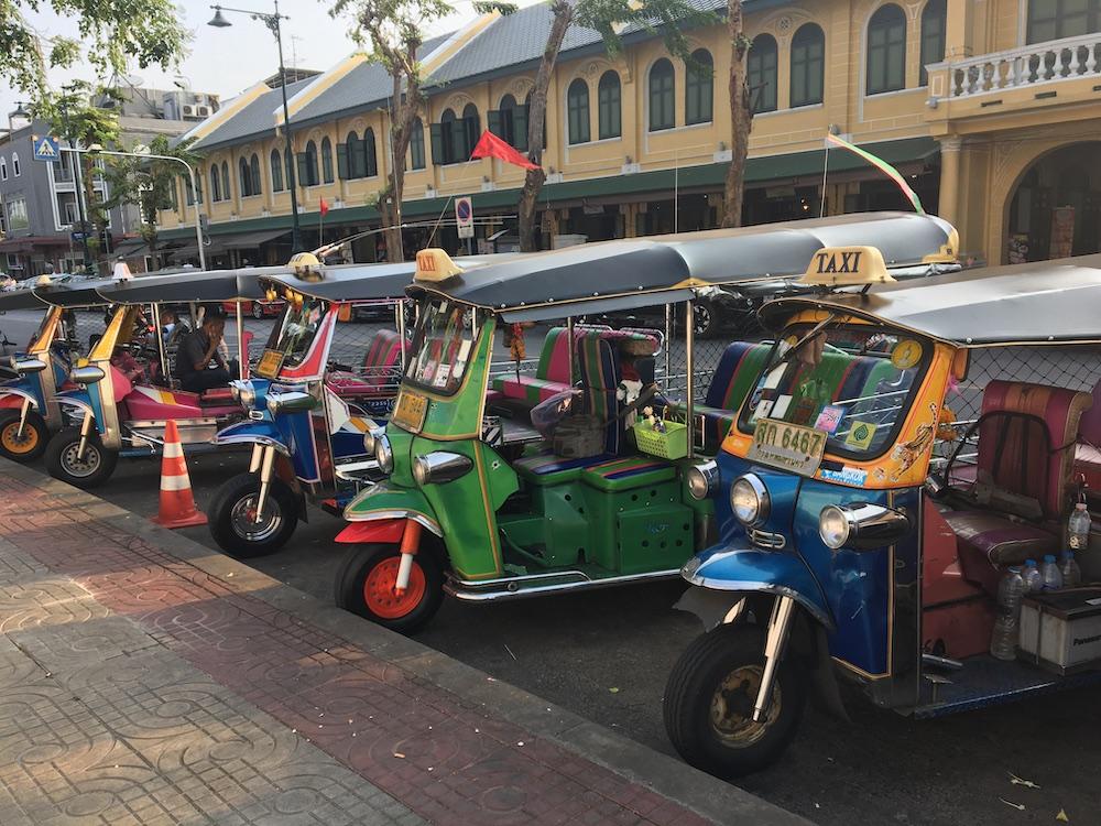 Tuk-tuk na Tailândia