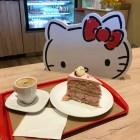 Café da Hello Kitty na Liberdade em São Paulo
