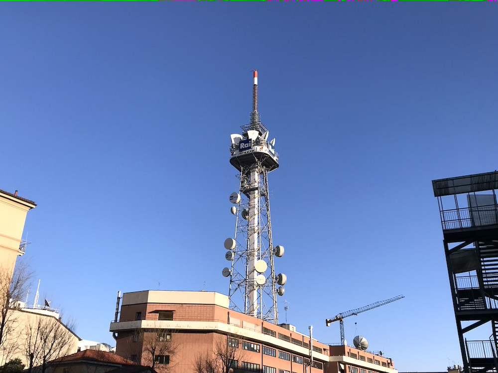 Antena de televisão