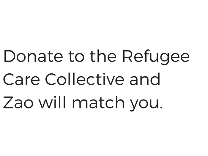 matching donations, refugee