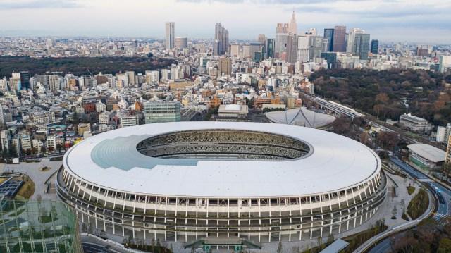 Токио национальный стадион