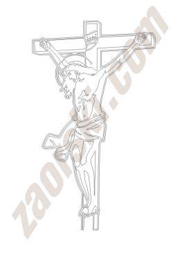 Zaorski - zdobienie krzyżem wariant 8