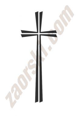 Zaorski - zdobienie krzyżem wariant 21