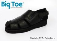 Zapato Big Toe para pie diabético de Caballero Modelo 127