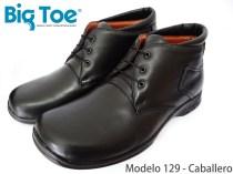 Zapato Big Toe para pie diabético de Caballero Modelo 129