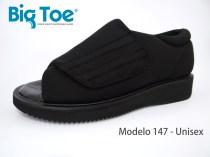 Zapato Big Toe para pie diabético de Unisex Modelo 147